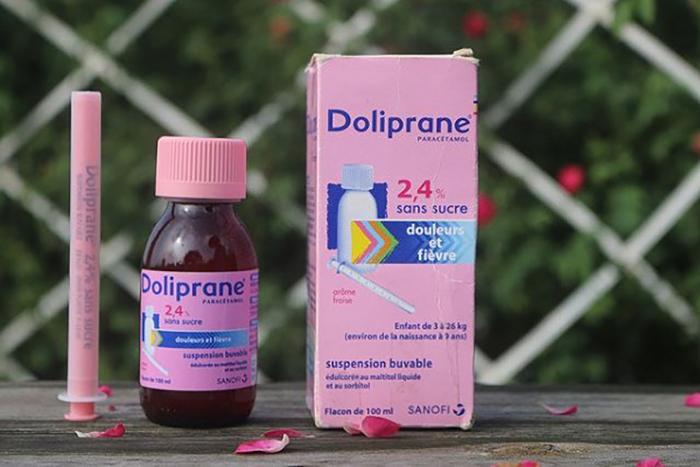 Thuốc hạ sốt Doliprane